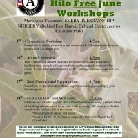June 2014 workshops